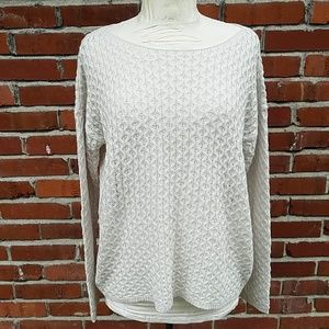 The Limited cream sweater NWT